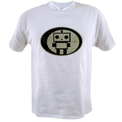 Math Bot E=mc2 Value T-shirt