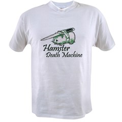 hamster death machine WEB.psd Value T-shirt