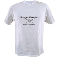 Knights Templar Spilling Sara Value T-shirt