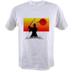 Samurai in Sun Value T-shirt