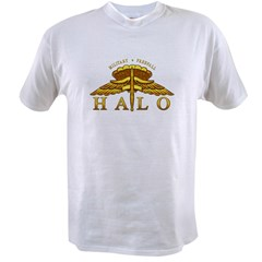 Golden Halo Badge Value T-shirt