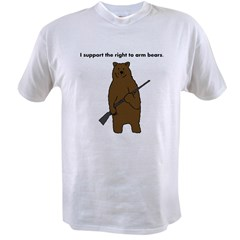 Right to Arm Bears Value T-shirt