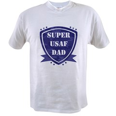 Super Air Force Dad Value T-shirt