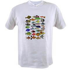 Tropical Fish ~ Value T-shirt