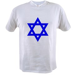 Star of David Blue Value T-shirt