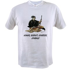 Samurai Value T-shirt