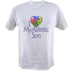 My Autistic Son Value T-shirt
