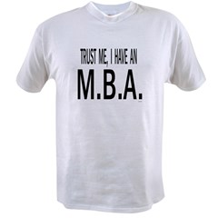 M.B.A. Value T-shirt