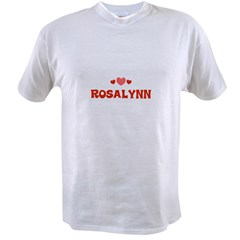 Rosalynn Value T-shirt