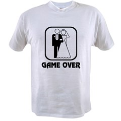 Wedding Symbol: Game Over Value T-shirt