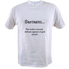 SARCASM Value T-shirt