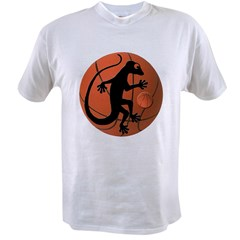 Gecko Basketball Value T-shirt