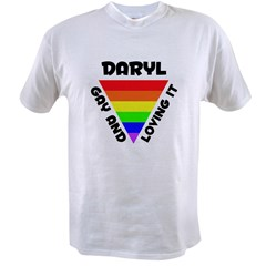 Daryl Gay Pride (#006) Value T-shirt