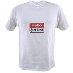 Hello I'm A Yarn Lover Value T-shirt