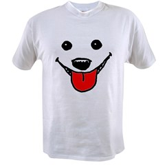 Happy Dog Face Value T-shirt