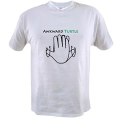 Awkward Turtle Value T-shirt