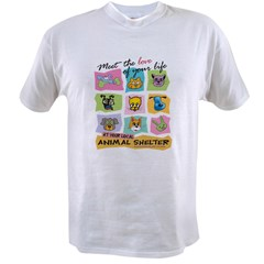 Meet Love Life z10x10 Value T-shirt