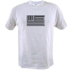 barcode flag Value T-shirt