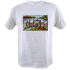 Kinston North Carolina Greetings Value T-shirt