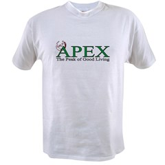 Apex North Carolina Peak of Good Living Value T-shirt