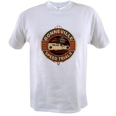 BONNEVILLE SALT FLAT TRIBUTE Value T-shirt