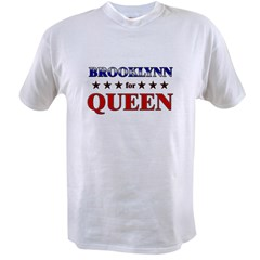 BROOKLYNN for queen Value T-shirt