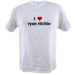I Love ryan ritchie Value T-shirt