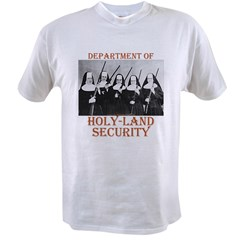 Holy-Land Security Value T-shirt
