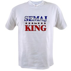 SEMAJ for king Value T-shirt