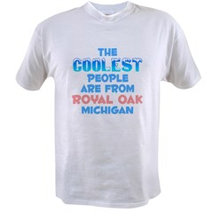 Coolest: Royal Oak, MI Value T-shirt