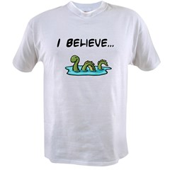 I Believe in the Loch Ness Mo Value T-shirt