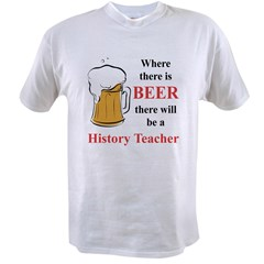History Teacher Value T-shirt