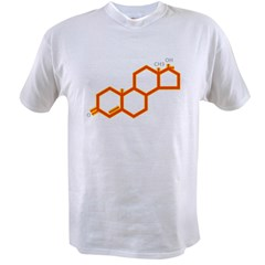 TESTOSTERONE SYMBOL Value T-shirt