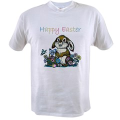 Easter Rabbi Value T-shirt