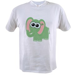 Cute St. Patty's Day Irish Elephan Value T-shirt