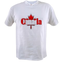 Canada Flag Value T-shirt