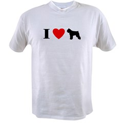 I Heart Bouvier des Flandres Value T-shirt