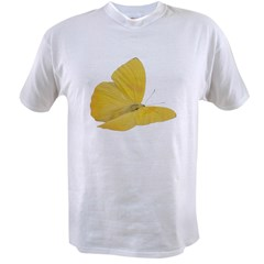 Yellow Butterfly Value T-shirt