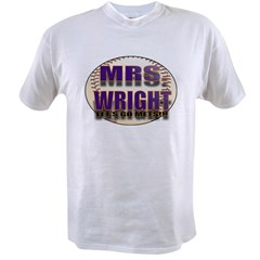 MRS. WRIGH Value T-shirt