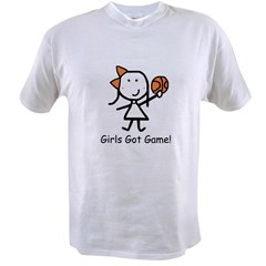Girls Got Game Value T-shirt