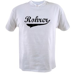 Rohrer (vintage) Value T-shirt