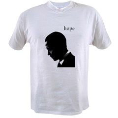 Barack Obama Hope Value T-shirt