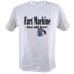 Fart Machine picture Value T-shirt
