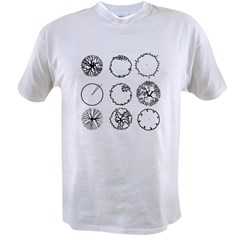 Tree Symbols Value T-shirt