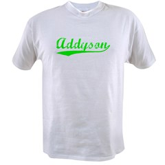 Vintage Addyson (Green) Value T-shirt