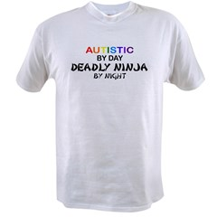 Autistic Deadly Ninja by Nigh Value T-shirt