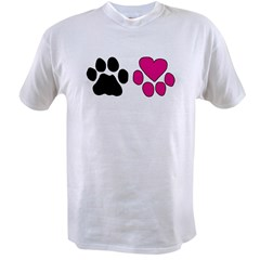 Heart Paw Value T-shirt
