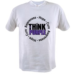 Think Purple Value T-shirt