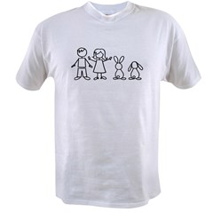 2 bunnies family Value T-shirt
