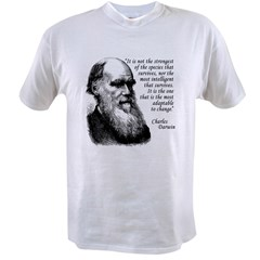 Darwin on Survival Value T-shirt